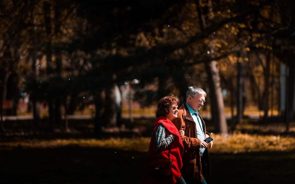 子なし夫婦の老後の散歩
