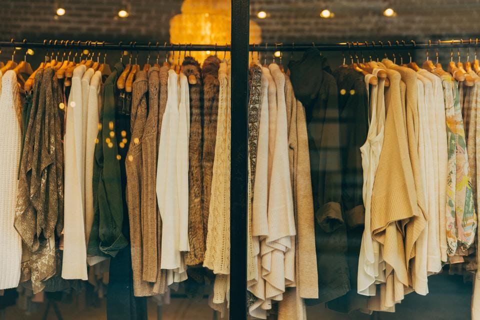 金沢でおしゃれな古着屋の店内イメージ