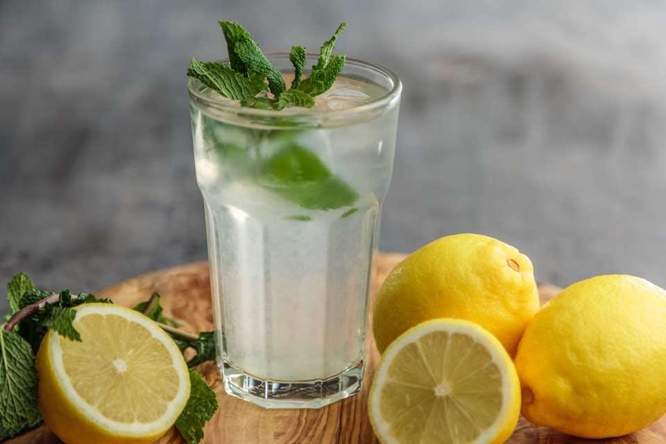 ミントレモンの果実酒