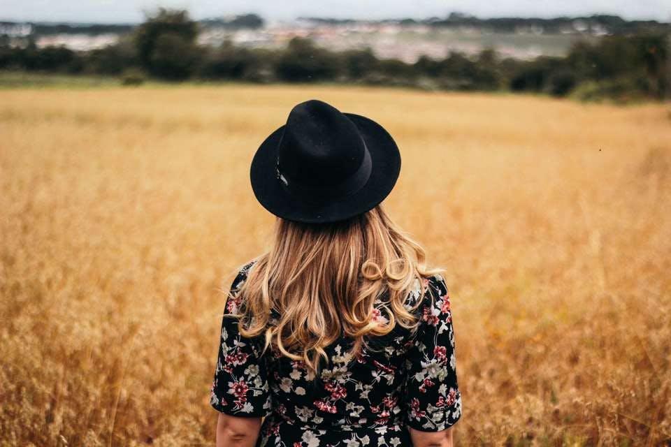 低温デジタルパーマと帽子