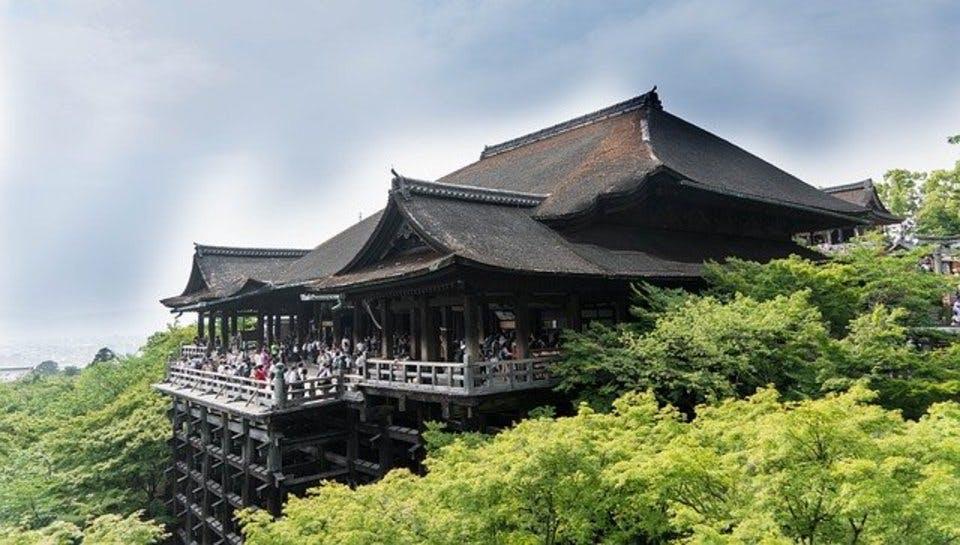 御朱印帳が気になる京都の清水寺