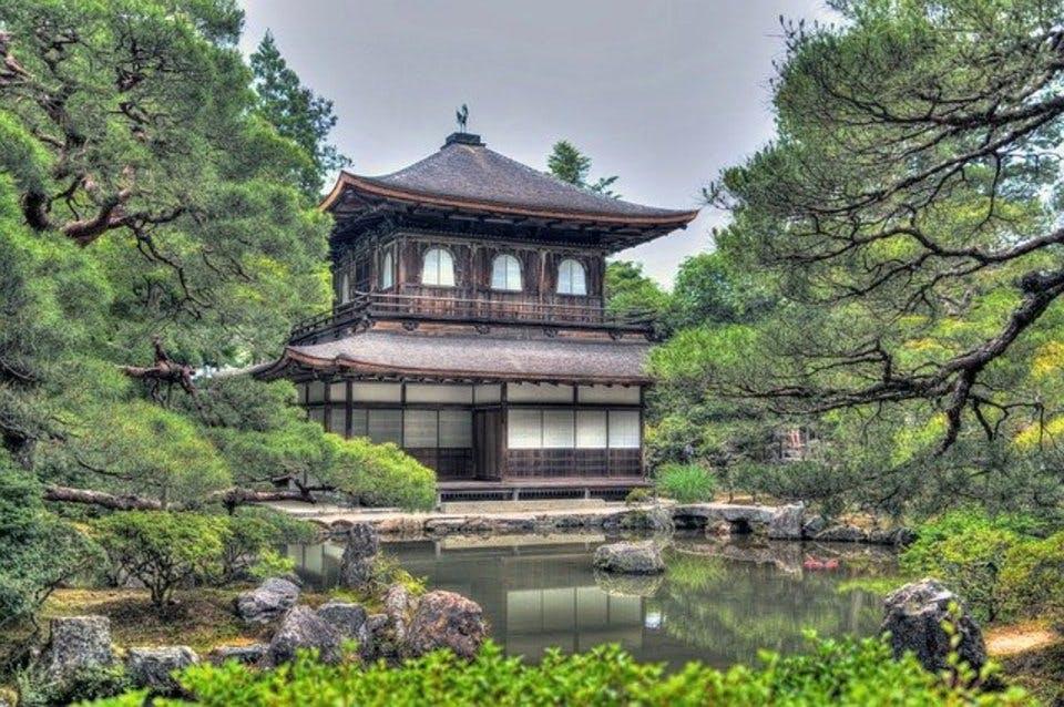 御朱印帳もある京都の有名スポット銀閣寺