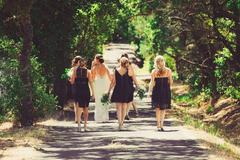 前髪なし結婚式アレンジ