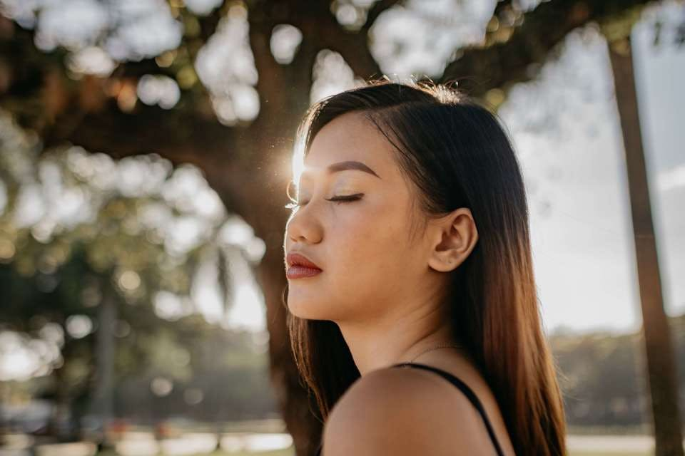 ふきとり化粧水を使って肌が健康になった女性