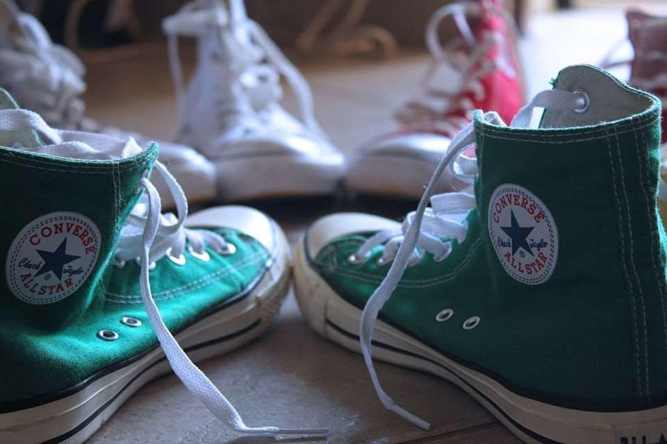 100均アイテムで靴を収納する